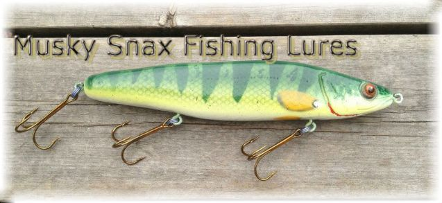 Musky Snax Fishing Lures
