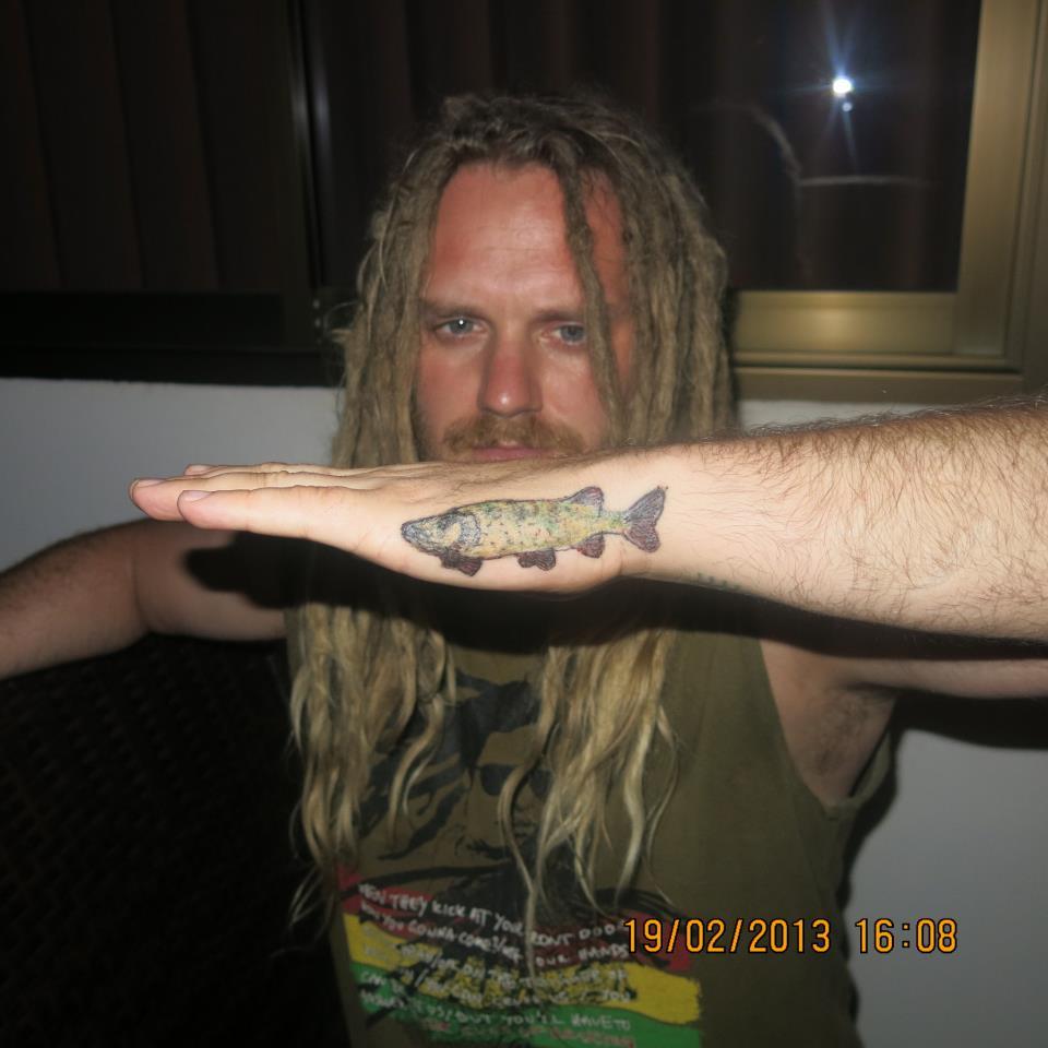 Abborre Tatuering