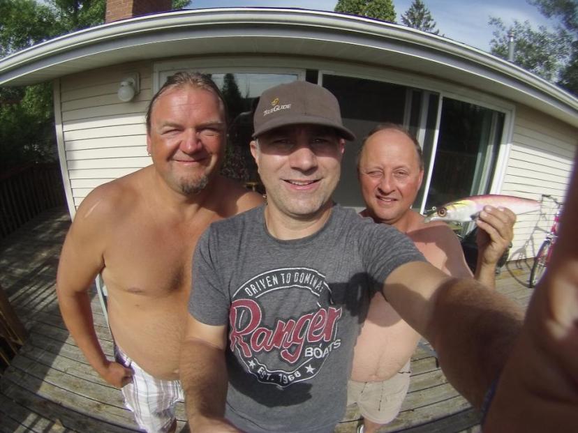 Bemidji med Stephan Nielsen och Chris thury.