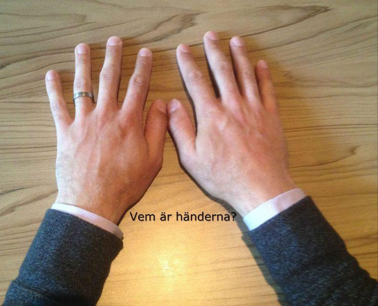 Vems är händerna