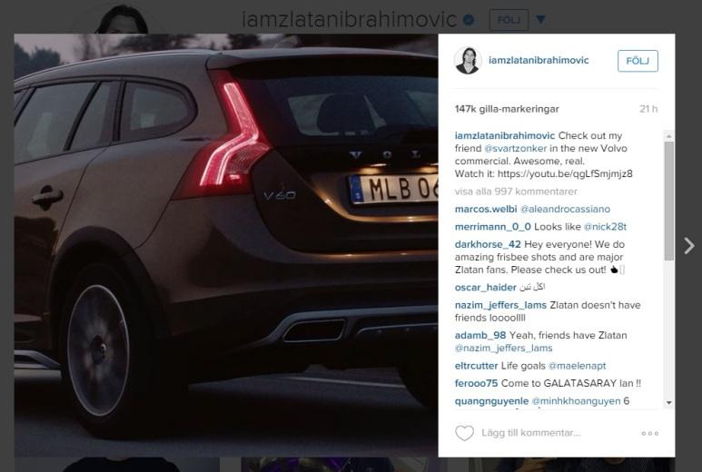 Zlatans Volvo SZ