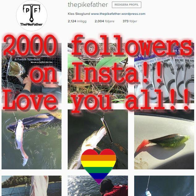 2000 följare på InstaKlar